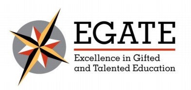 EGATE logo - Excellence in Gifted and Talented Education
