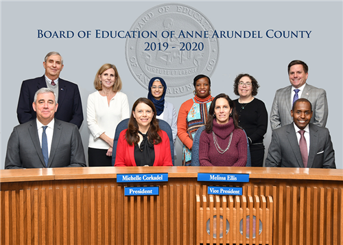 Board of Education of Anne Arundel County - 2019-2020 - Board Members photo