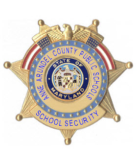 Badge AACPS School Security