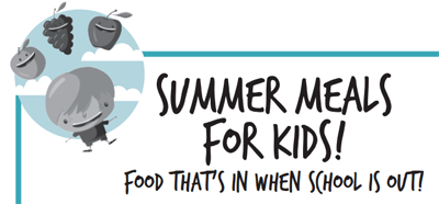 Summer Meals for Kids - food that's in when school is out